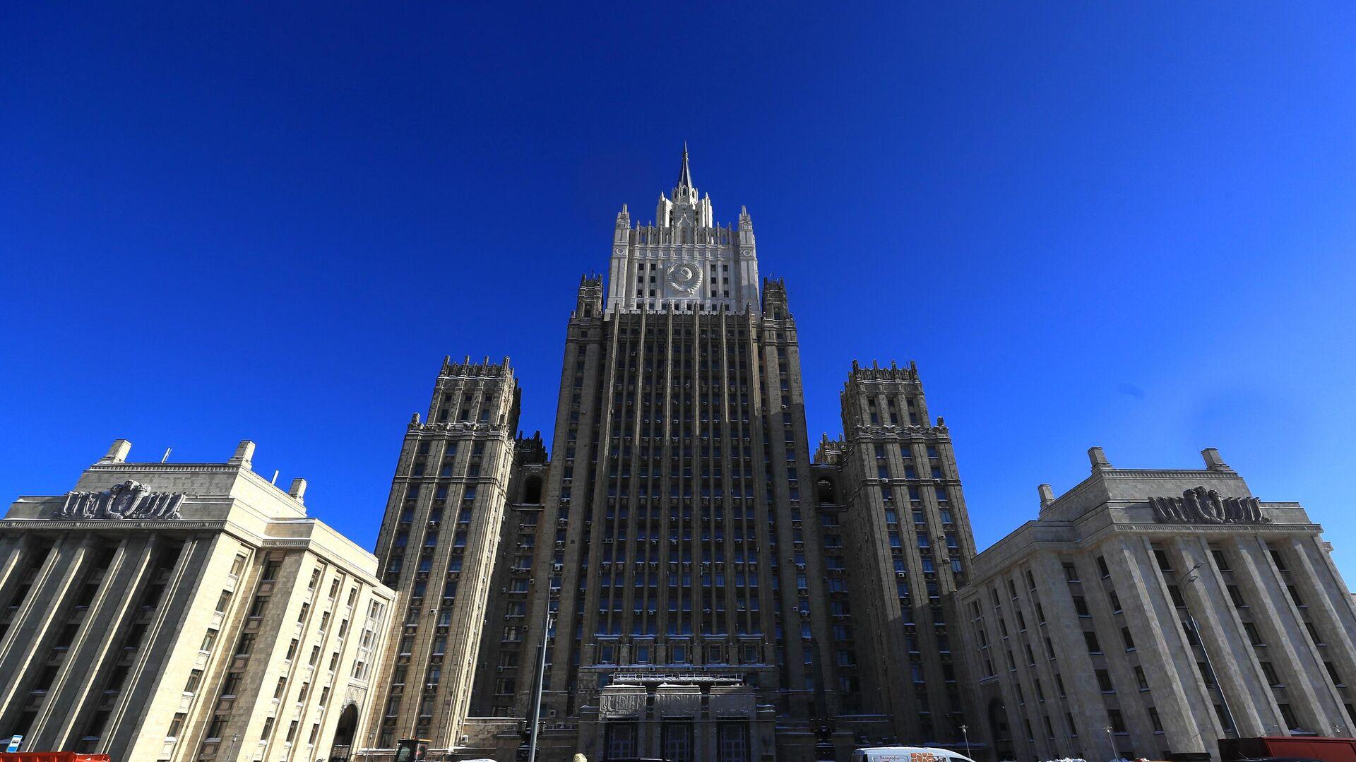 Здание Министерства иностранных дел РФ  - РИА Новости, 1920, 01.03.2021