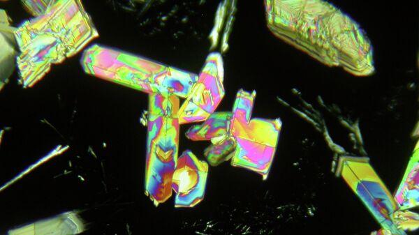 Микрокристаллы янтарной кислоты