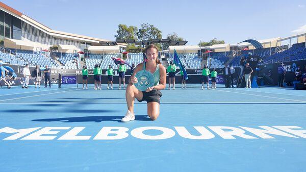 Российская теннисистка Дарья Касаткина