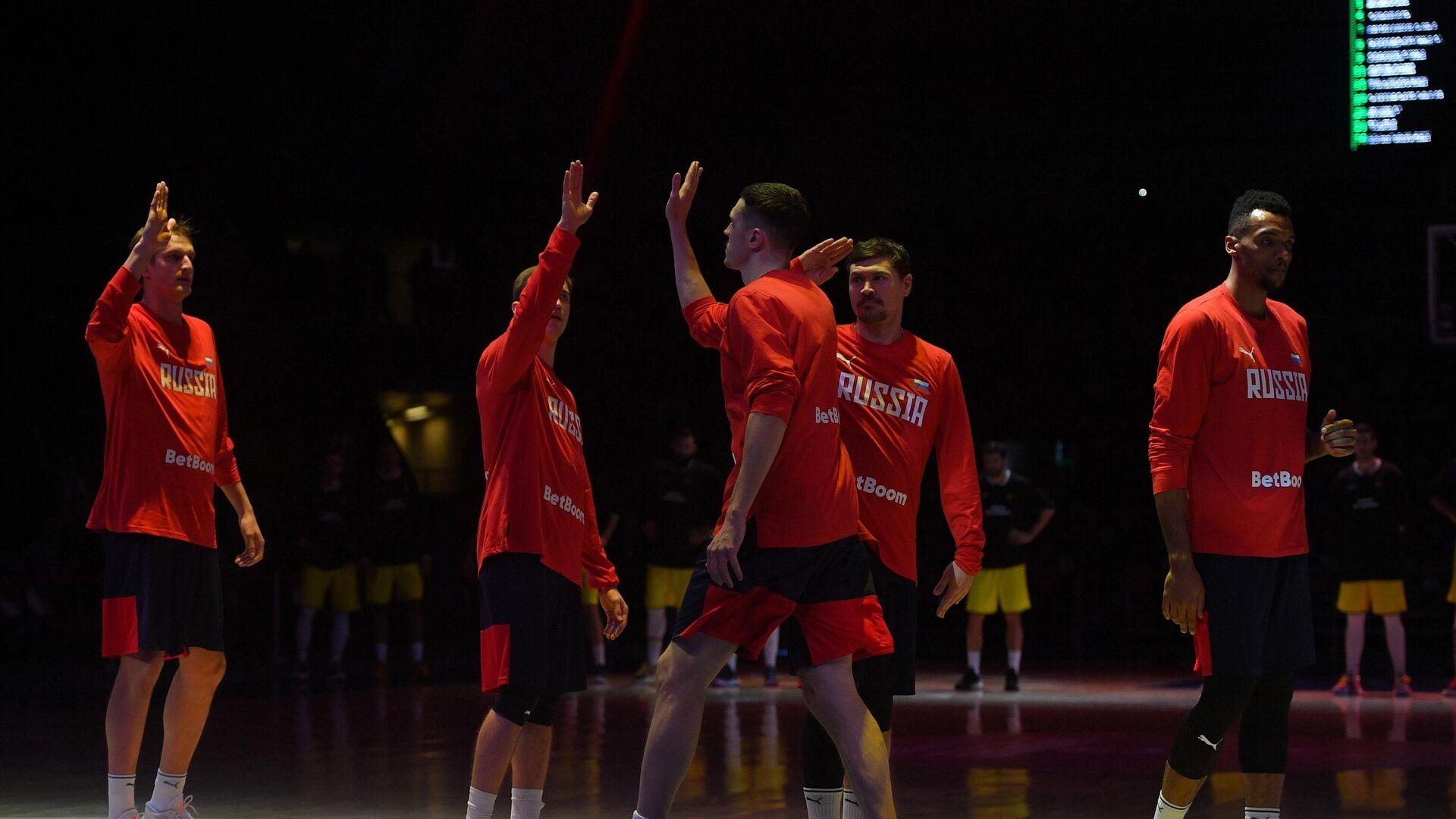 Баскетболисты сборной России - РИА Новости, 1920, 19.02.2021