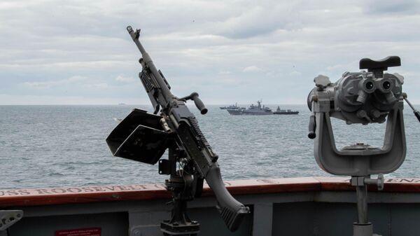 Совместные учения стран НАТО в Черном море