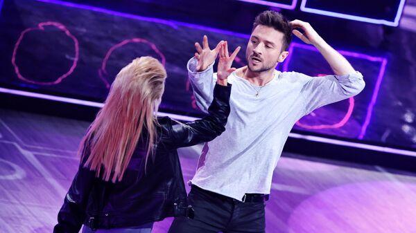 Сергей Лазарев и Екатерина Осипова на шоу  Танцы со звездами
