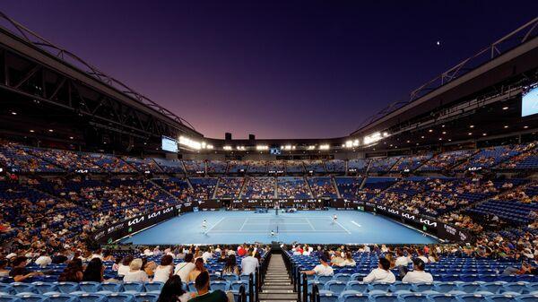 Теннис. Открытый чемпионат Австралии - 2021. Матч Н. Джокович - А. Карацев