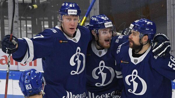 Михал Чайковски, Владислав Ефремов и Иван Игумнов (слева направо)