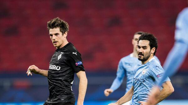 Матч Лиги чемпионов между командами Манчестер Сити и Боруссия Менхенгладбах
