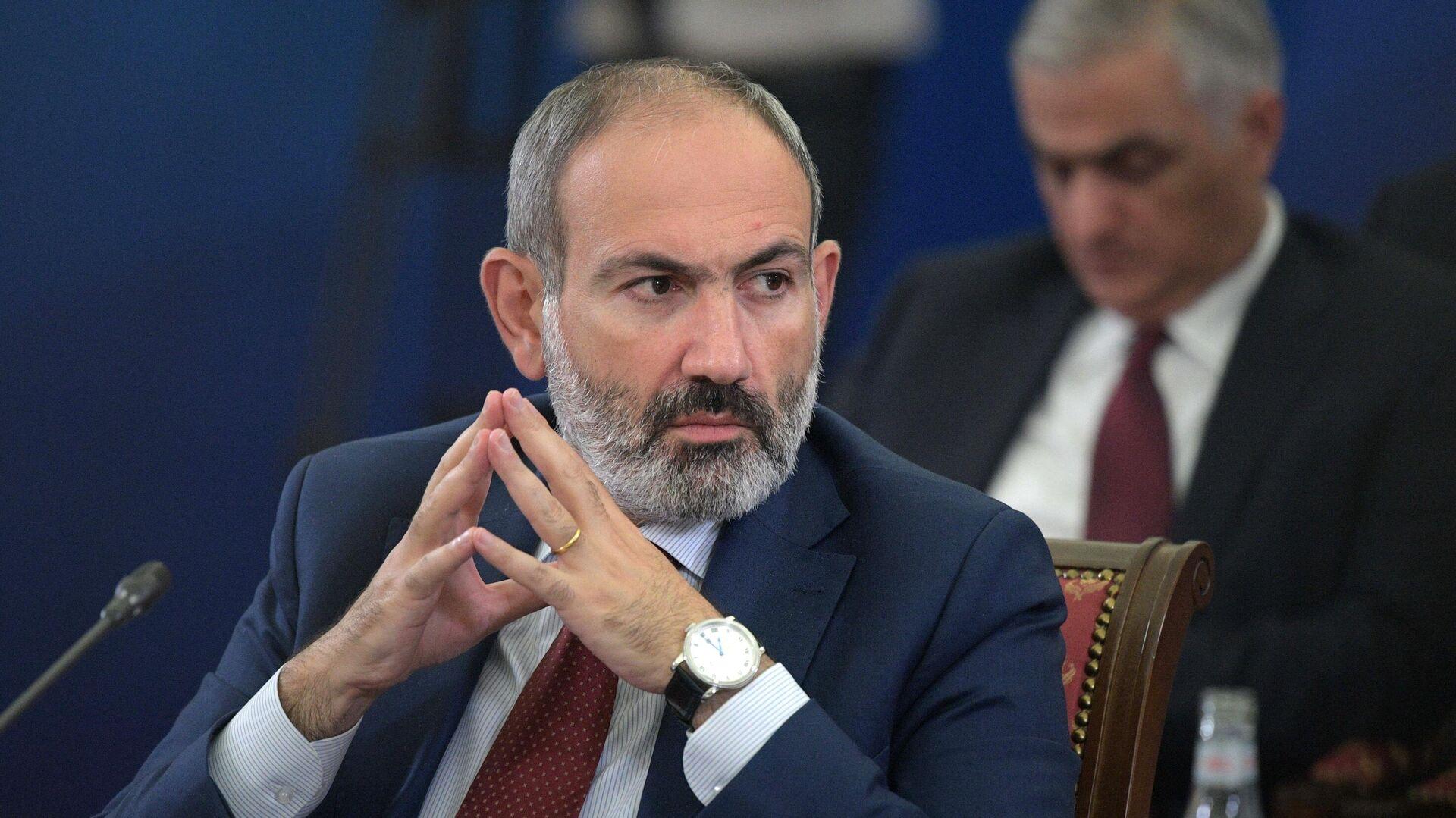 Премьер-министр Армении Никол Пашинян - РИА Новости, 1920, 10.05.2021