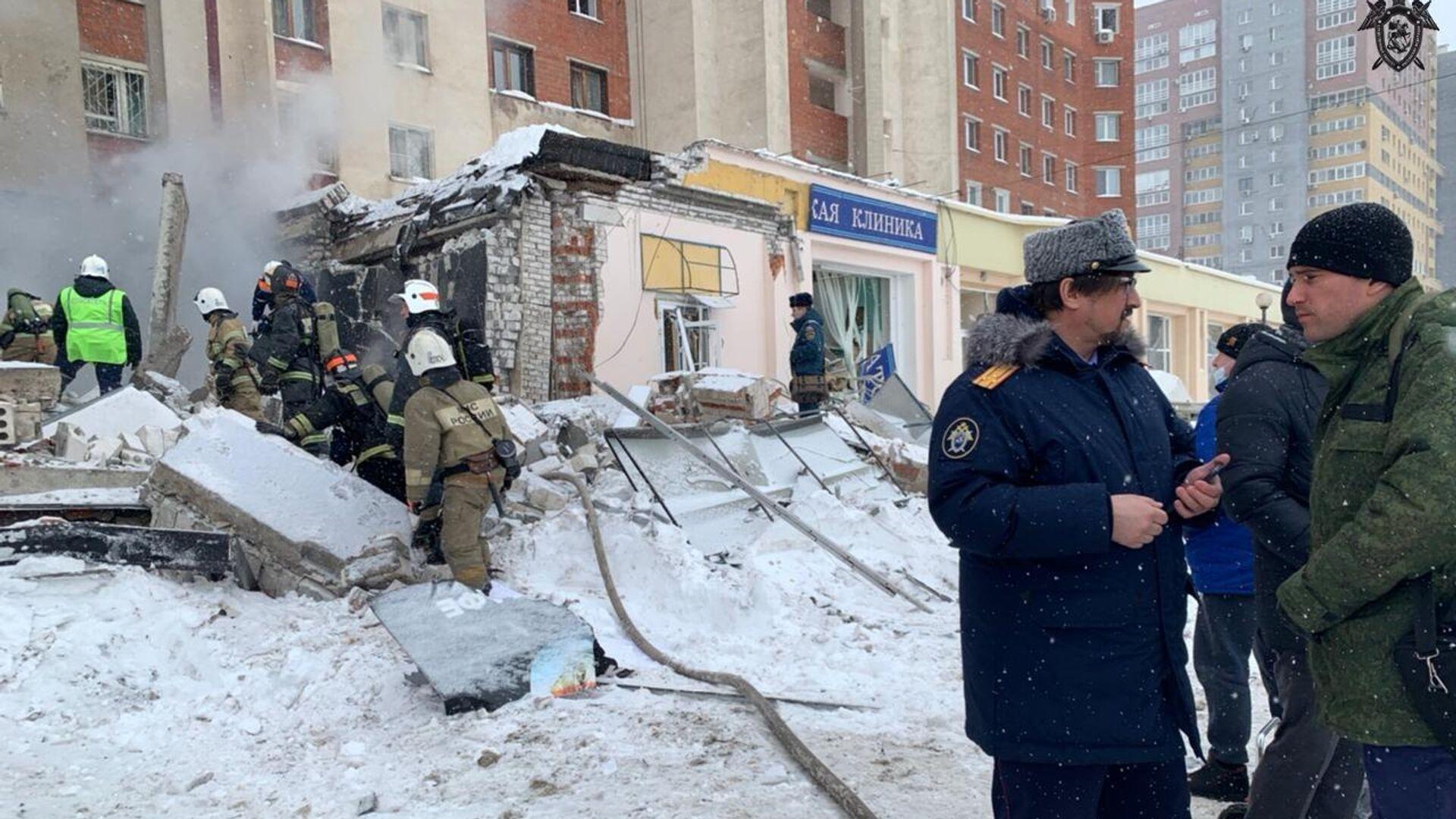 Место взрыва в жилом доме на Мещерском бульваре в Нижнем Новгороде - РИА Новости, 1920, 26.02.2021