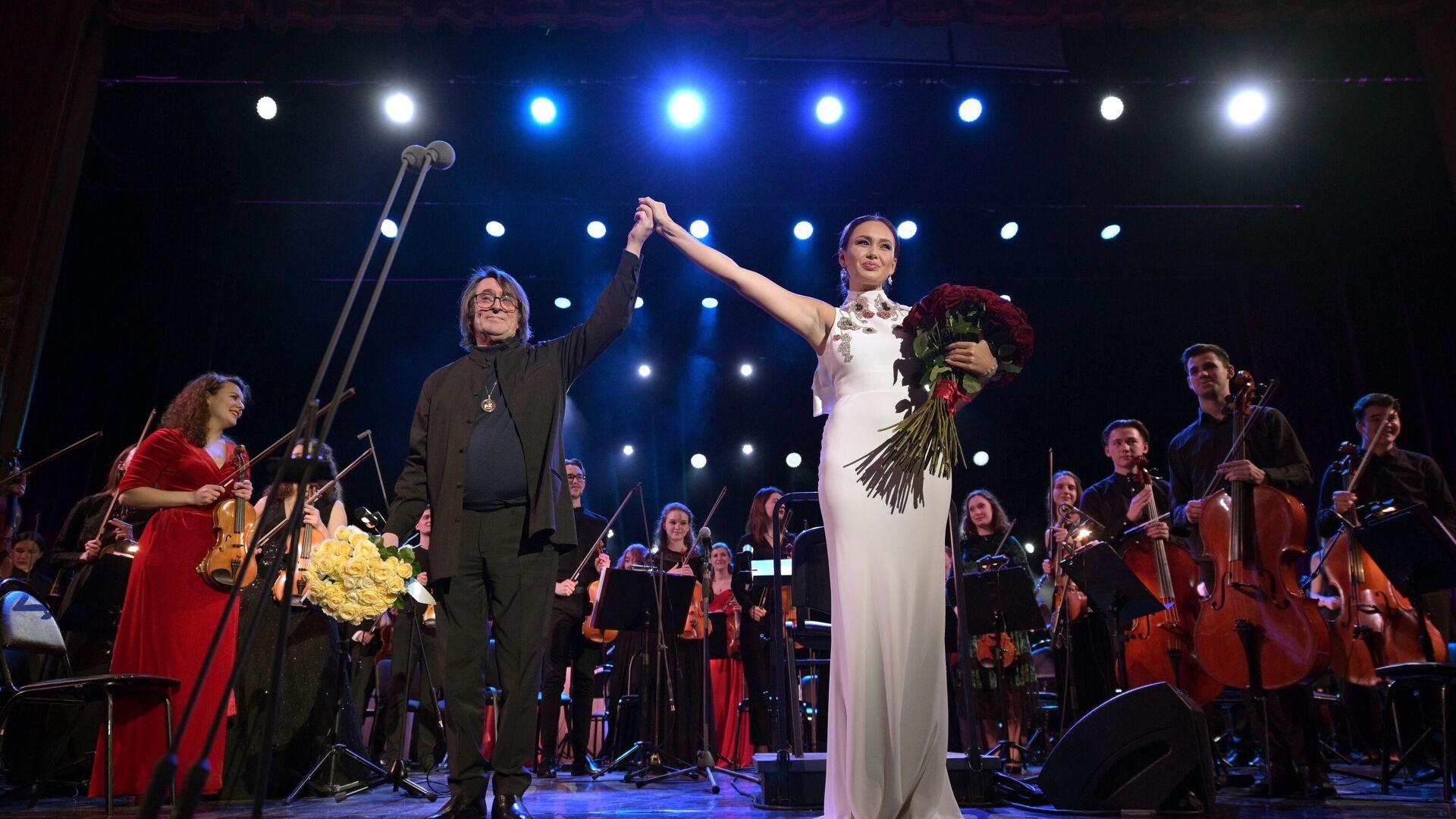 Концерт-открытие Зимнего фестиваля искусств Юрия Башмета - РИА Новости, 1920, 28.02.2021