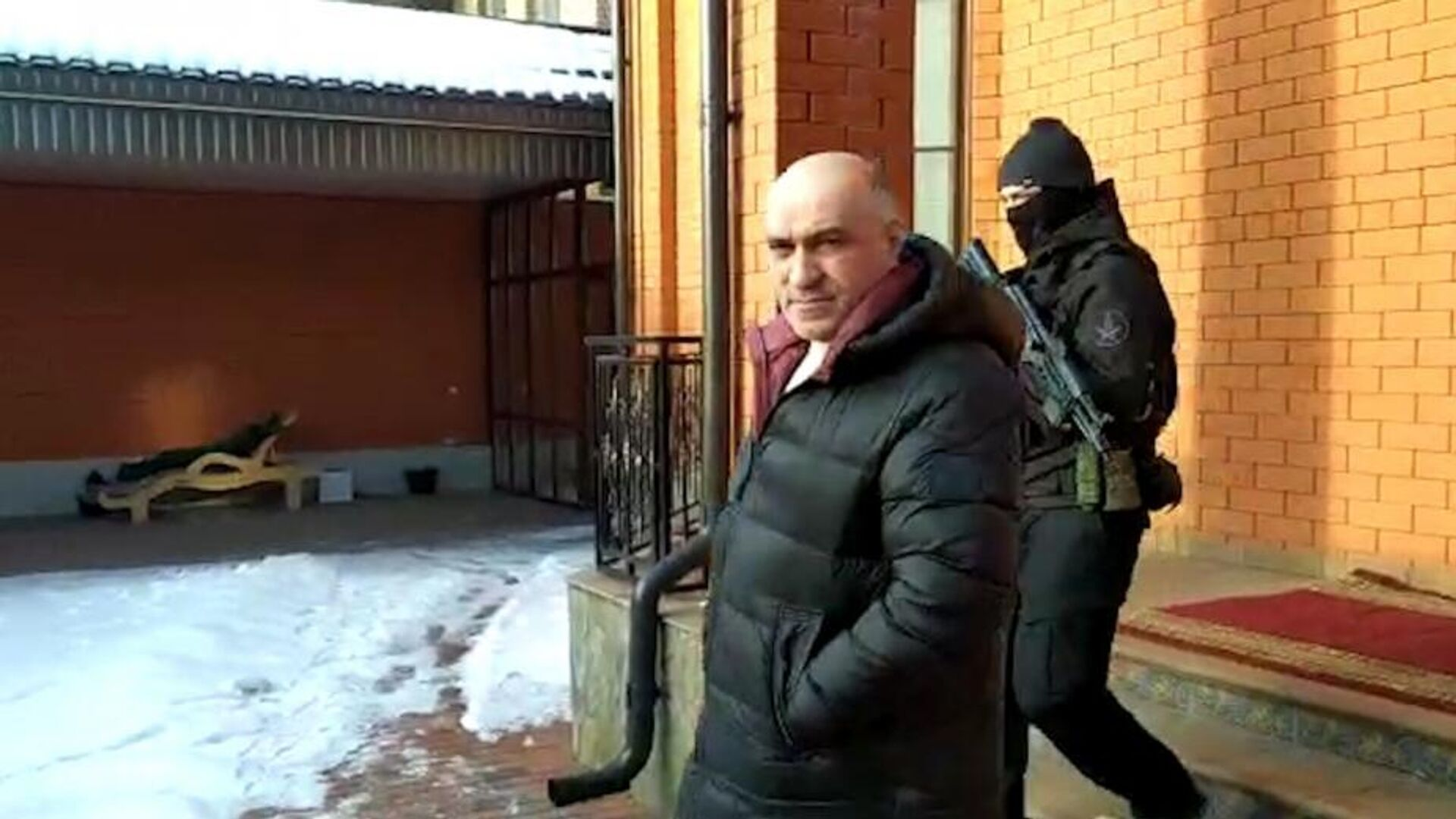Задержание Ахмеда Погорова - РИА Новости, 1920, 26.02.2021