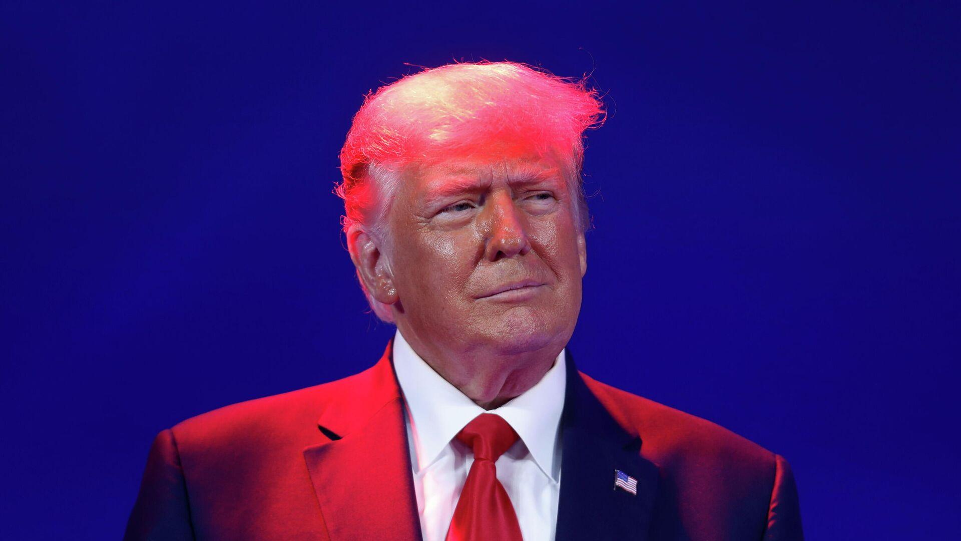 Бывший президент США Дональд Трамп на конференции консервативных политических партий в Орландо - РИА Новости, 1920, 04.03.2021