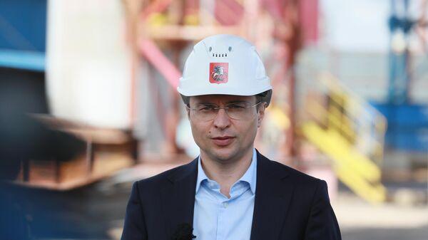 Руководитель департамента строительства города Москвы Рафик Загрутдинов