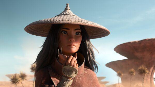 Кадр из фильма Райя и последний дракон