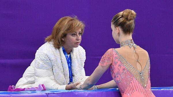 Олимпиада 2018. Фигурное катание. Женщины. Короткая программа