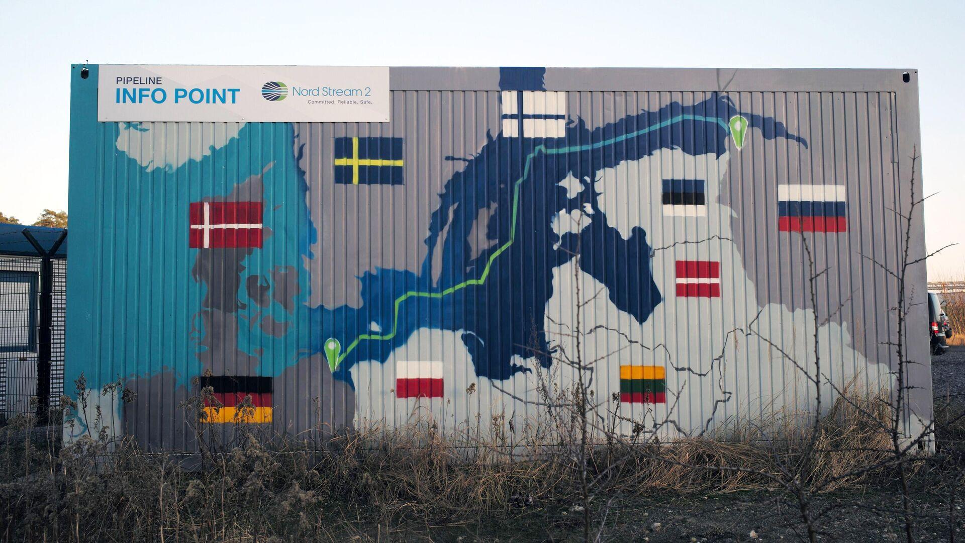 Береговые объекты газопровода Северный поток - 2 в городе Любмин в Германии - РИА Новости, 1920, 26.02.2021
