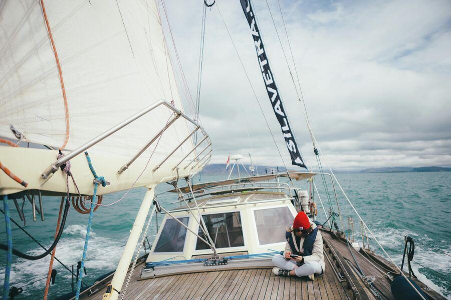 Яхтинг на острове Итуруп. Сила ветра