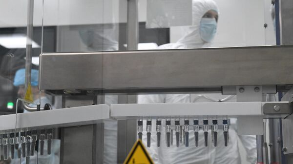 Линия розлива инъекционных препаратов
