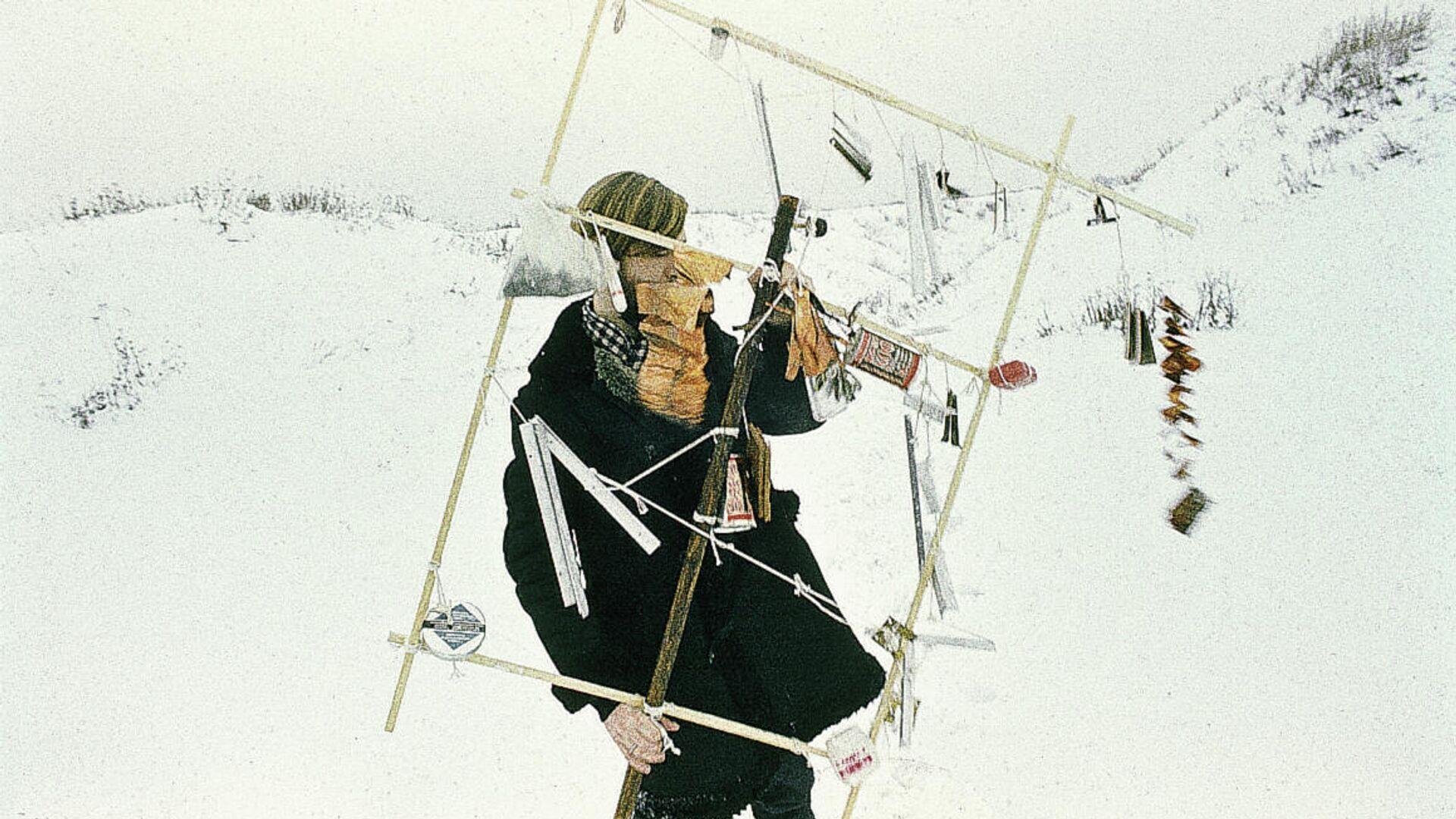 Художник Никита Алексеев, перформанс Шум (Noise), 1978 - РИА Новости, 1920, 11.03.2021