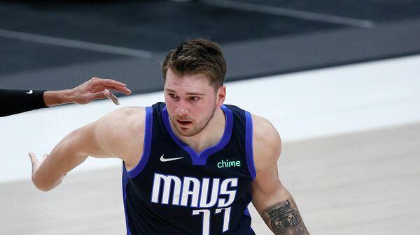 Игрок клуба НБА Даллас Мэверикс Лука Дончич