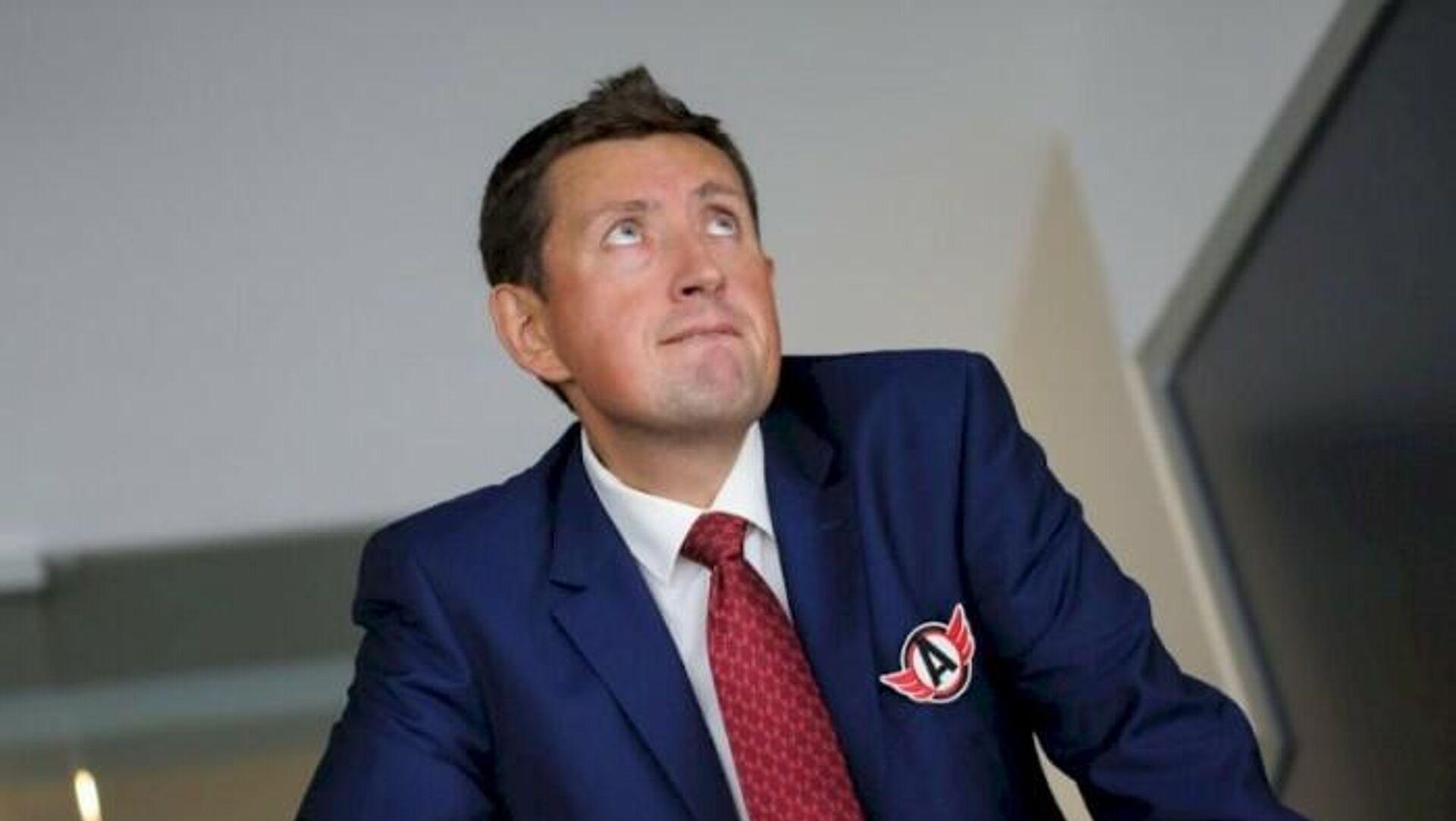 Директор хоккейного клуба Автомобилист Максим Рябков - РИА Новости, 1920, 11.03.2021