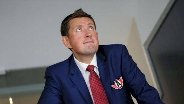 Директор хоккейного клуба Автомобилист Максим Рябков