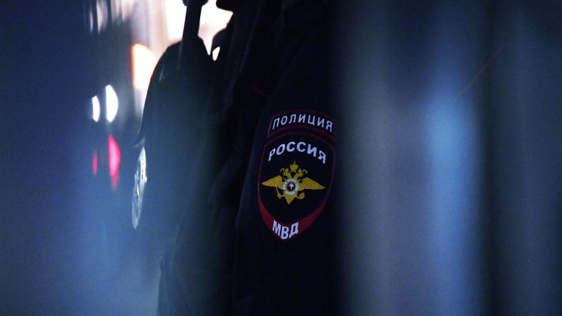 Эмблема на форме сотрудника полиции - РИА Новости, 1920, 04.08.2021