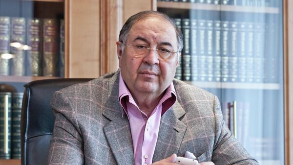 Основатель фонда Искусство, наука и спорт Алишер Усманов