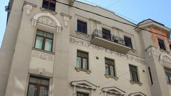 Дом 9 в Пожарском переулке Москвы