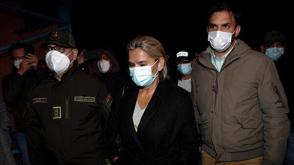 Задержание бывшего временного президента Боливии Жанин Анеьес