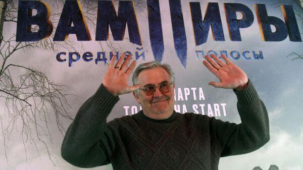 Актер Юрий Стоянов на премьере сериала Вампиры средней полосы в киноцентре Октябрь в Москве.