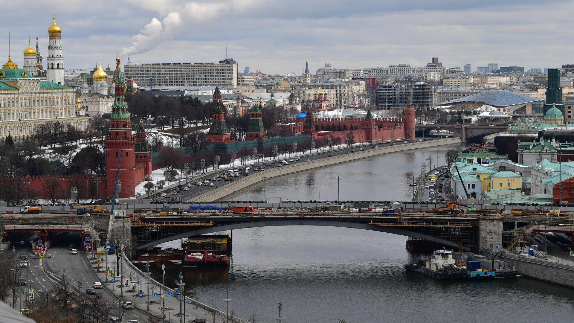 Реконструкция Большого Каменного моста - РИА Новости, 1920, 19.03.2021