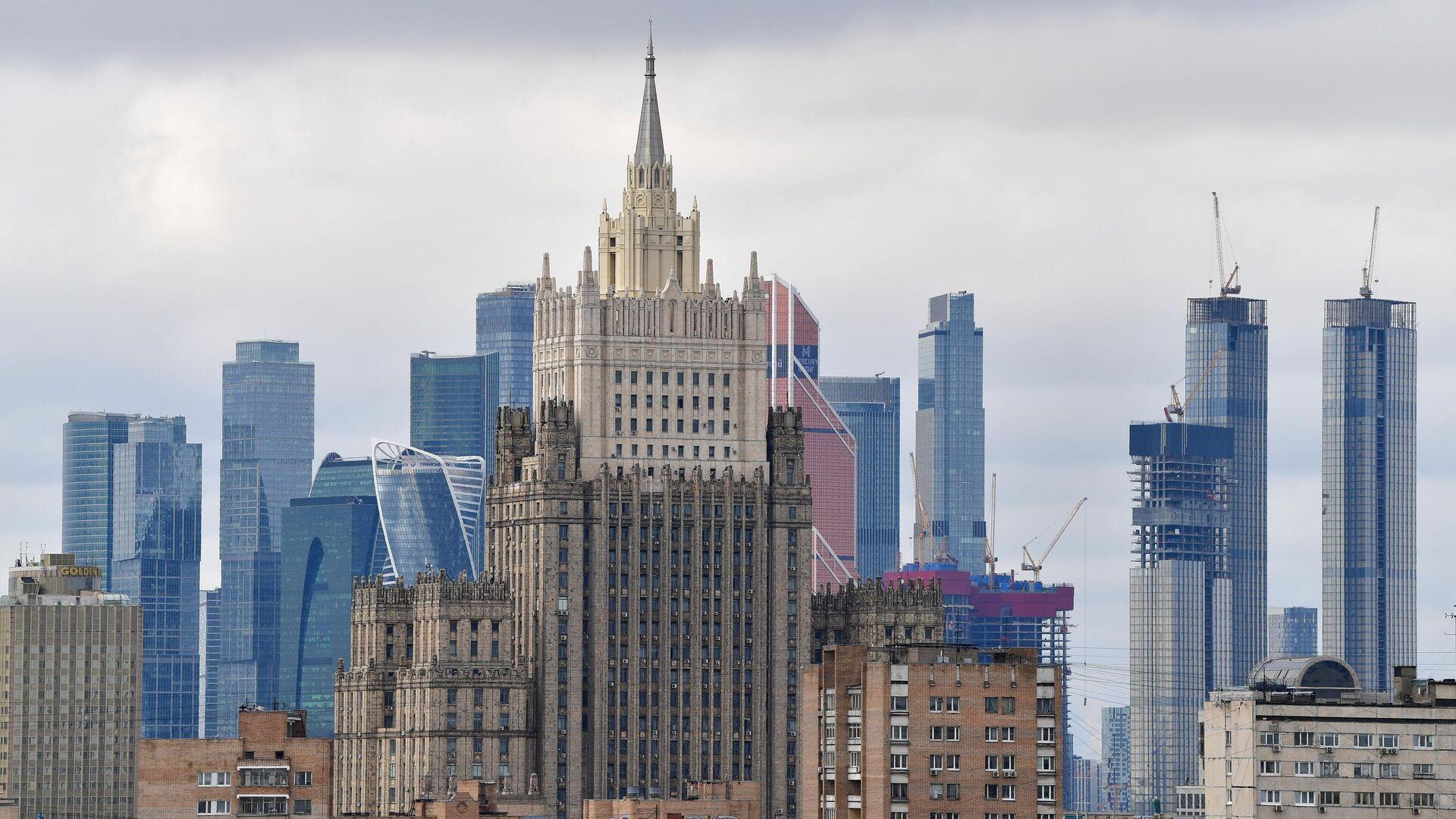 Здание министерства иностранных дел России - РИА Новости, 1920, 26.03.2021