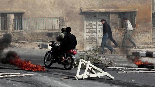 Столкновения в сирийском городе Даръа