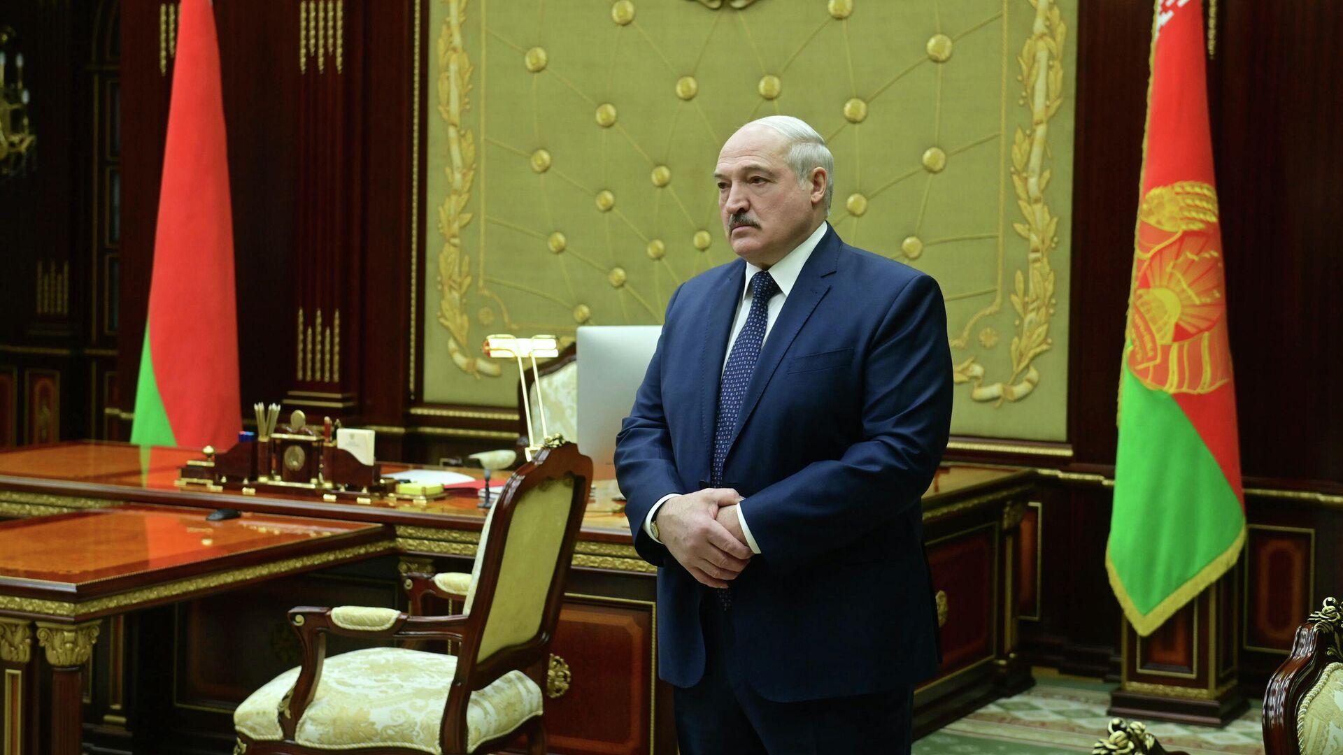 Президент Белоруссии Александр Лукашенко - РИА Новости, 1920, 23.05.2021