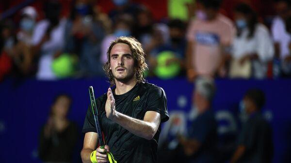 Греческий теннисист Стефанос Циципас
