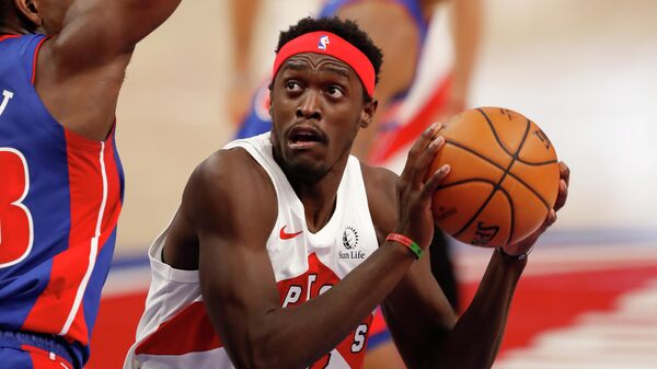 Баскетболист Торонто Паскаль Сиакам