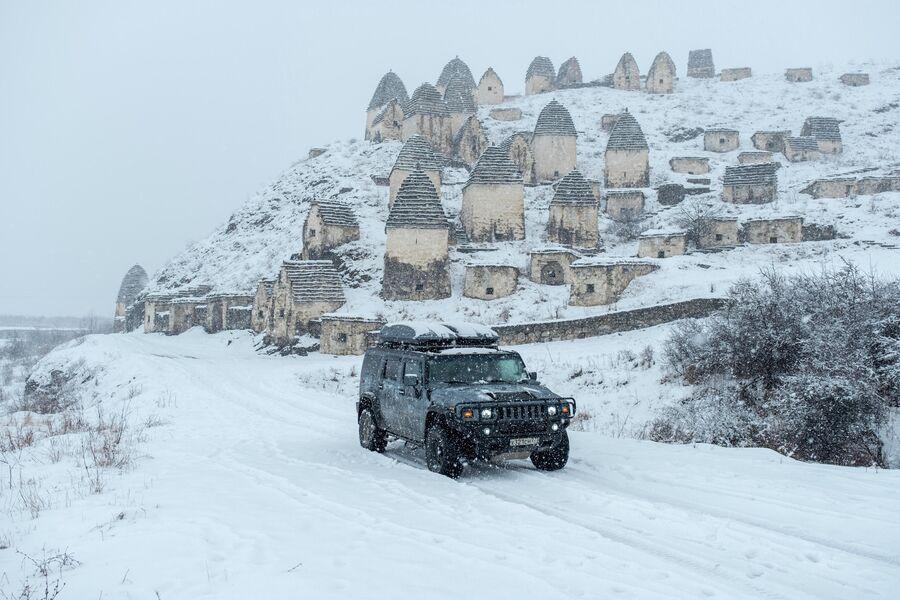 Северная Осетия – Алания, город мёртвых, Даргавс