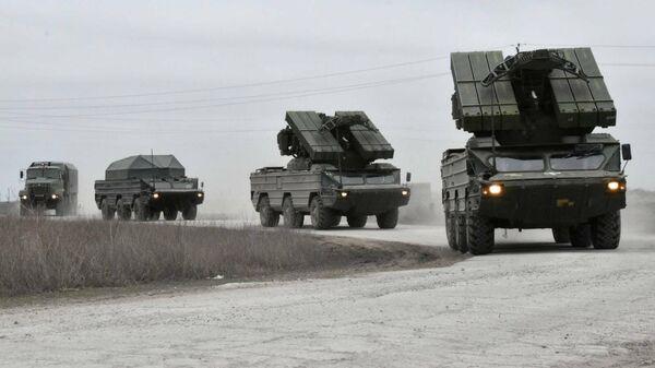 Учения ВС Украины на границе с Крымом