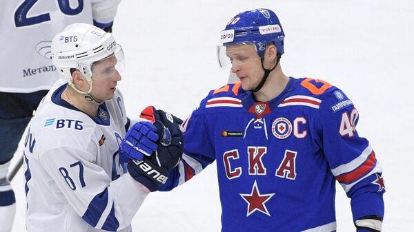 Хоккей. КХЛ. Матч СКА - Динамо (Москва)