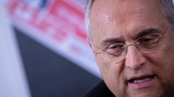 Президент футбольного клуба Лацио Клаудио Лотито