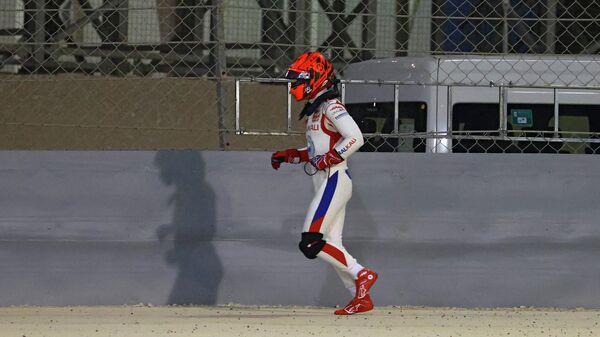 Российский пилот Формулы-1 Никита Мазепин