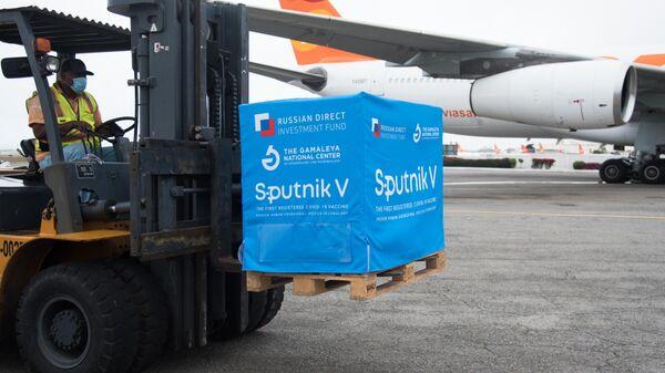 Новая партия вакцины Sputnik V прибыла в Венесуэлу