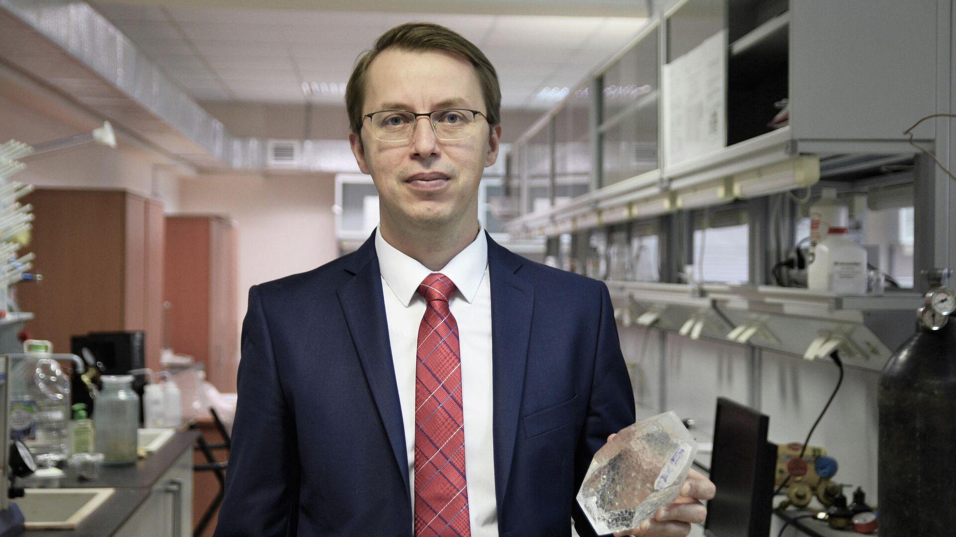 Профессор ЮУрГУ Денис Винник - РИА Новости, 1920, 30.03.2021