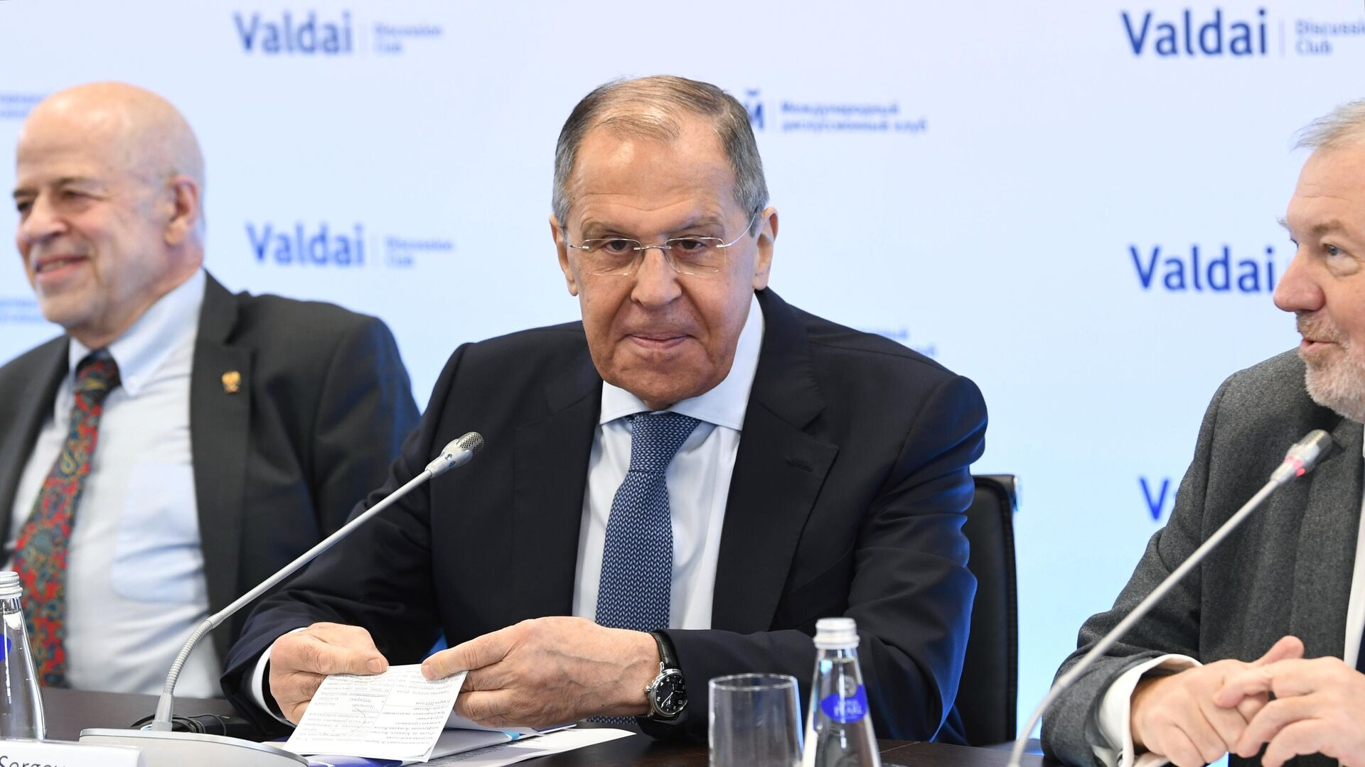 Лавров сыронизировал над корреспондентом BBC во время пресс-конференции