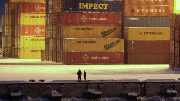 Причал морского порта Большой порт Санкт-Петербург