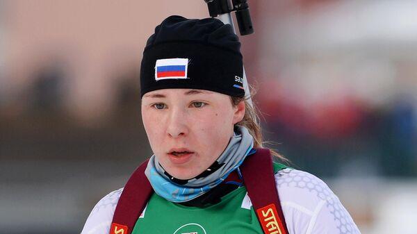 Биатлонистка Наталья Ушкина