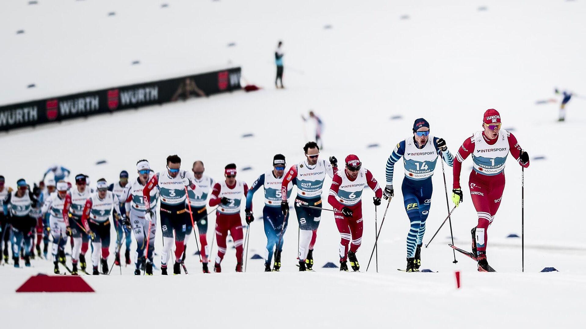 Лыжники на чемпионате мира - РИА Новости, 1920, 22.04.2021