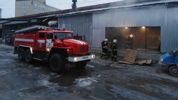 Пожар в террариуме в Екатеринбурге
