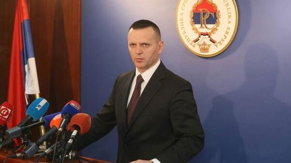 Глава МВД Сербской Республики Драган Лукач