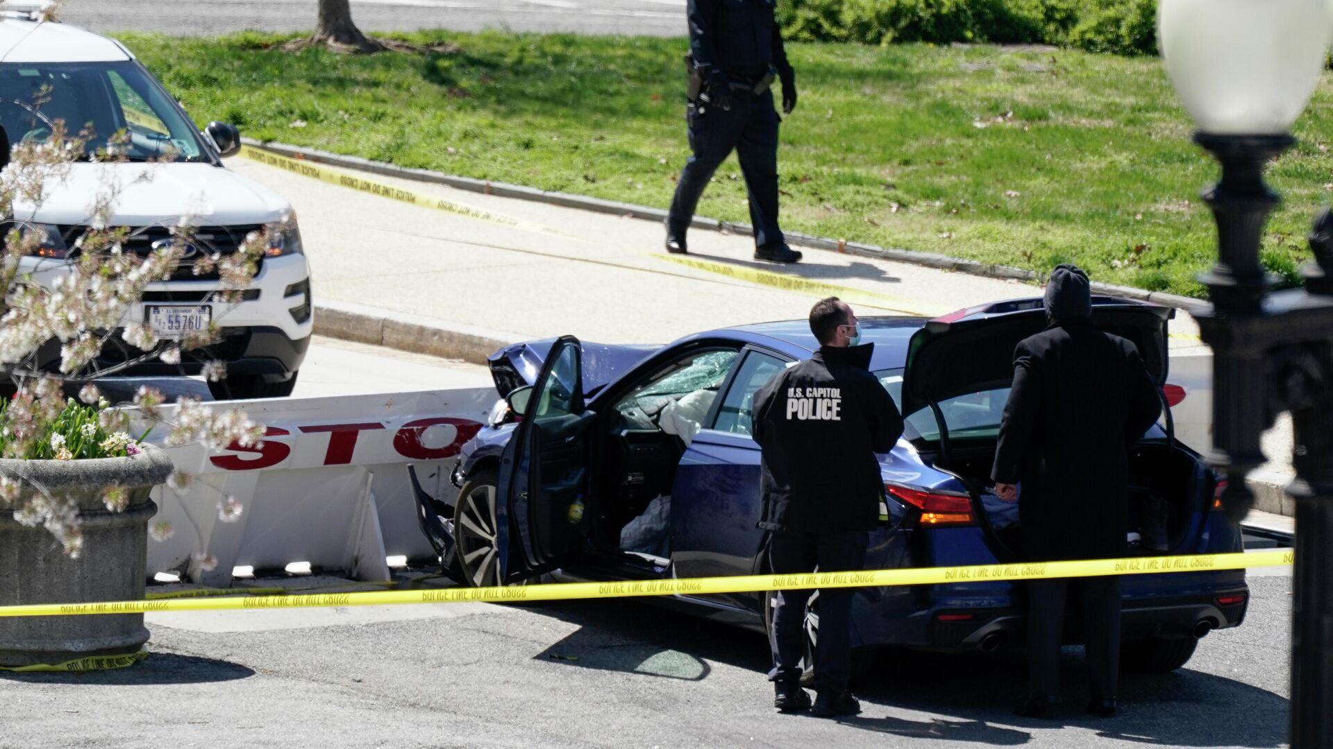 Умер пострадавший при инциденте у Капитолия полицейский