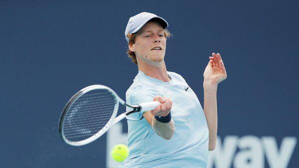 Теннисист Янник Синнер (Италия)